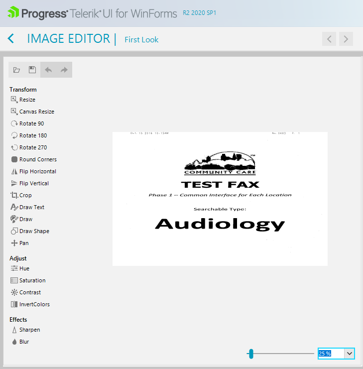 Microsoft Tiff Editor